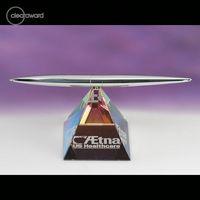 982927022-114 - Clearaward Pen Stand Pyramid - thumbnail