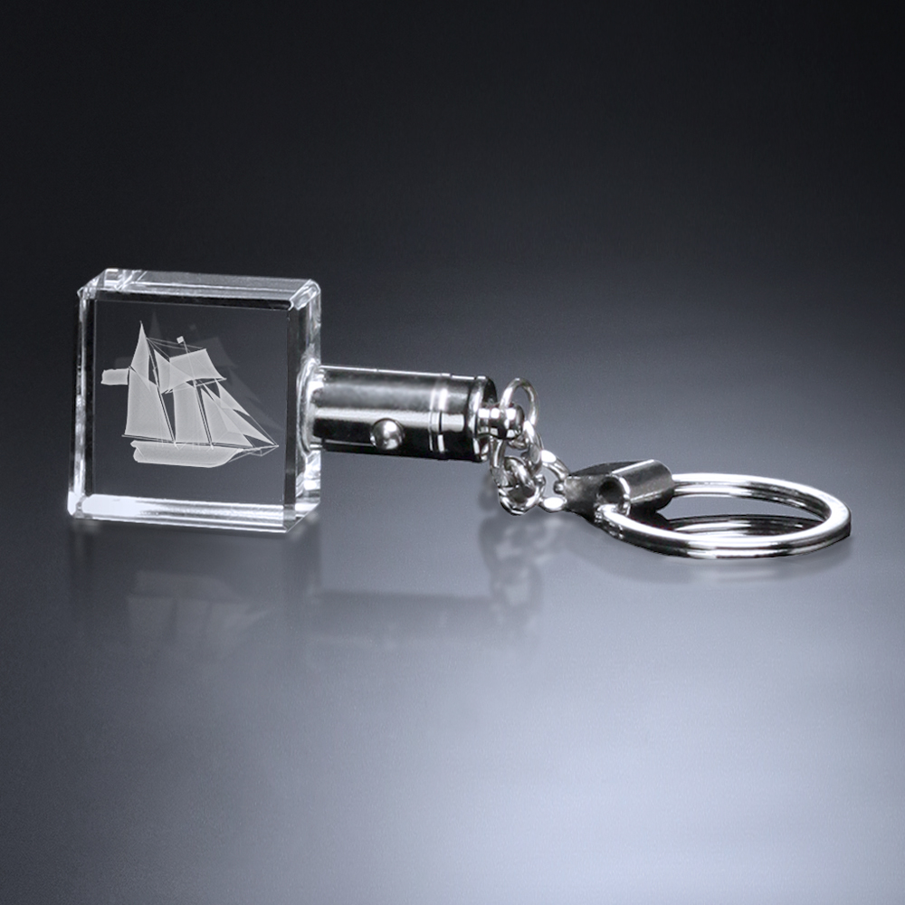 374592341-133 - Keychain Lighted Square - thumbnail