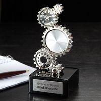 124166198-116 - Gear Clock - thumbnail