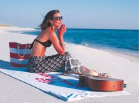 545328494-173 - Kangaroo Hidden Pocket Beach Towel™ - thumbnail