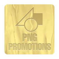 """191578724-183 - Square Embossed Foil Roll Seal (2""""x2"""") - thumbnail"""