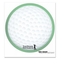 "344035050-183 - Golf Ball Stock Art Full Color Dry Erase Decals (8"" Diameter) - thumbnail"