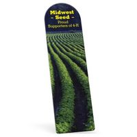 """362536131-183 - Full Color Arch Vinyl Plastic Bookmark w/out Slit (0.020"""" Thick) - thumbnail"""