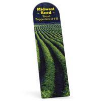 "372861524-183 - Biodegradable Arch Vinyl Plastic Bookmark without Slit (0.015"" Thick) - thumbnail"