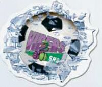 """743709545-183 - WindowCrashers - Soccer Clear Poly Decals (3 1/2""""x3 13/16"""") - thumbnail"""