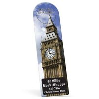 "772861525-183 - Biodegradable Arch Vinyl Plastic Bookmark w/ Slit (0.015"" Thick) - thumbnail"