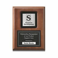 "994245583-182 - Fusion Wood Plaque Award (12""x15"") - thumbnail"