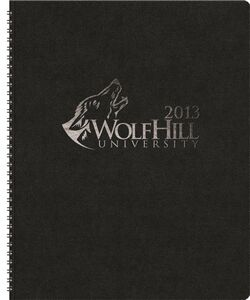 "153318966-197 - TheDirector™ Monthly Planner w/Leatherette Wraparound (8.5""x11"") - thumbnail"