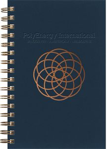 """34906228-197 - Luxury Cover Series 4 SeminarPad w/Black Paperboard Back Cover (5.5""""x8.5"""") - thumbnail"""