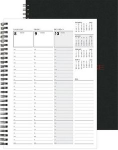 """743319089-197 - Weekly Organizer™ w/Leather Front & Chip Back (7""""x10"""") - thumbnail"""