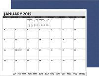 """905061010-197 - PerfectPlanners™ - Linen President Monthly (11"""" x 8.5"""") - thumbnail"""