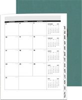 "975061005-197 - PerfectPlanners™ - Linen Analyst Monthly (8.5""x11"") - thumbnail"
