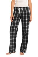 115164444-120 - District Women's Flannel Plaid Pant - thumbnail