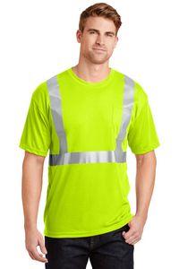 163505640-120 - Cornerstone® ANSI 107 Class 2 Safety T-Shirt - thumbnail