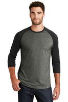 165491293-120 - New Era® Men's Heritage Blend 3/4-Sleeve Baseball Raglan Tee - thumbnail