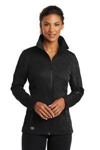 174554228-120 - OGIO® Ladies' Endurance Crux Soft Shell Jacket - thumbnail