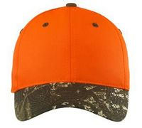 343334338-120 - Port Authority® Enhanced Visibility Cap w/Camo Brim - thumbnail