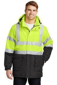 352792789-120 - Port Authority® ANSI 107 Class 3 Safety Heavyweight Parka Jacket - thumbnail