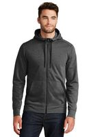 355491424-120 - New Era® Tri Blend Fleece Full Zip Hoodie - thumbnail
