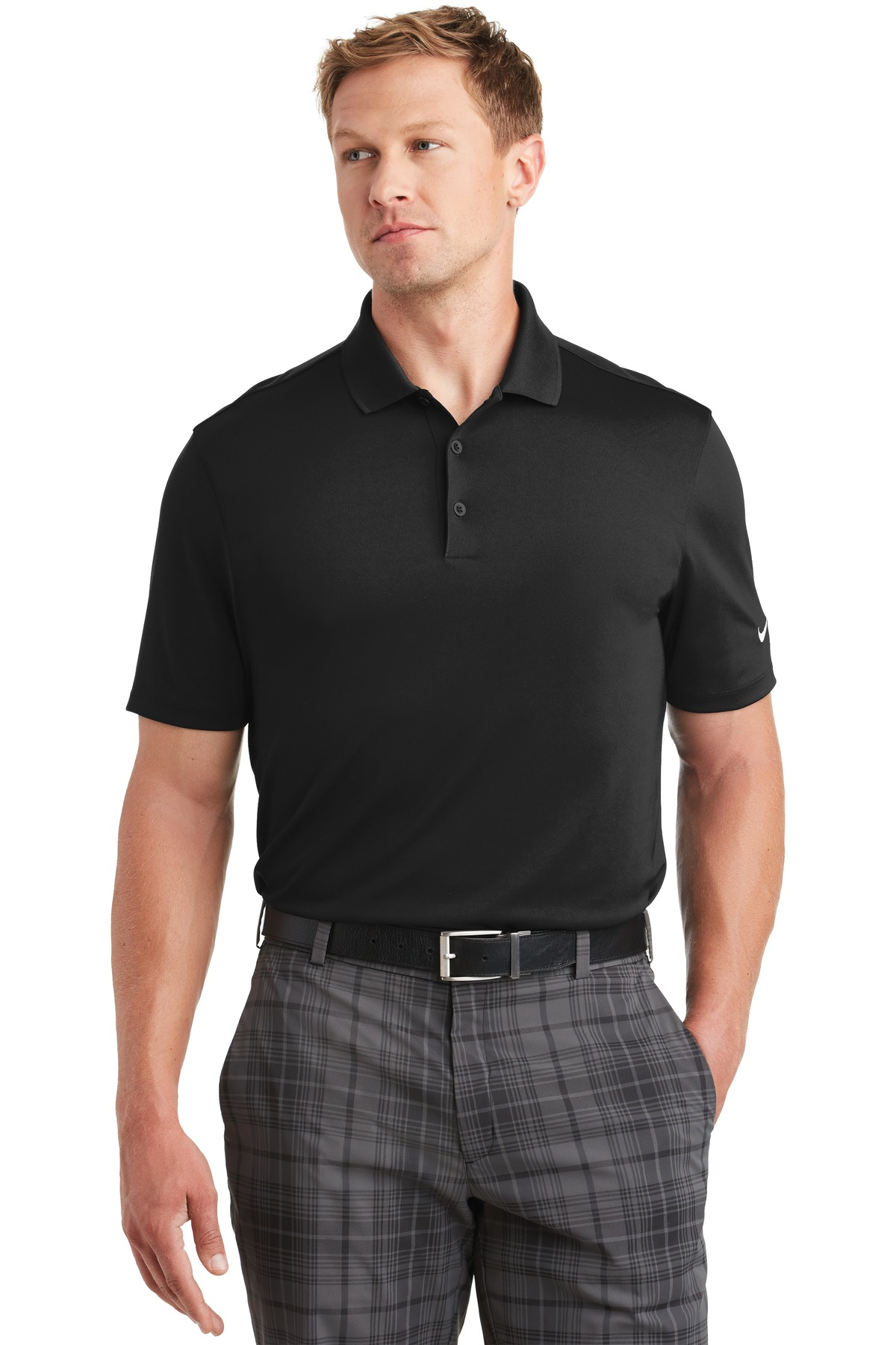 705342876-120 - Nike Golf Dri-FIT Players Polo w/Flat Knit Collar - thumbnail