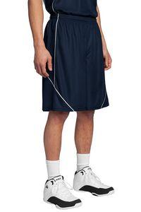 793921256-120 - Sport-Tek® Men's PosiCharge® Mesh Reversible Spliced Shorts - thumbnail