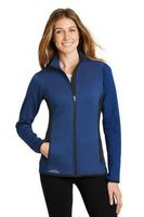 915165035-120 - Eddie Bauer® Ladies' Full-Zip Heather Stretch Fleece Jacket - thumbnail