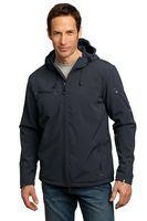 923335184-120 - Port Authority® Men's Textured Hooded Soft Shell Jacket - thumbnail