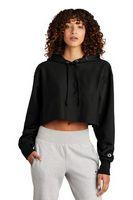 946250486-120 - Champion® Women's Reverse Weave® Cropped Cut-Off Hooded Sweatshirt - thumbnail