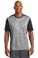 955297889-120 - Sport-Tek® Men's PosiCharge® Electric Heather Colorblock Tee - thumbnail