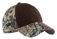 973334347-120 - Port Authority® Camo Cap w/Contrast Front Panel - thumbnail