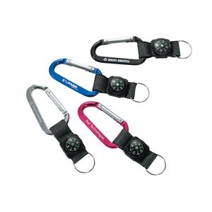 141300578-184 - Busbee Carabiner with Compass - thumbnail