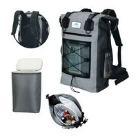 145456509-184 - iCOOL Xtreme Whitewater Waterproof Cooler Backpack - thumbnail