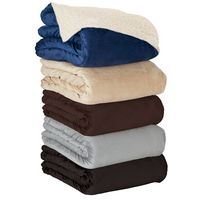 184154030-184 - Fairwood Oversize Sherpa Blanket - thumbnail