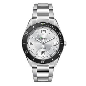 "356501818-184 - Wc8242 42mm Steel Silver Case, 3 Hand ""Automatic"" Mvmt, Silver Dial, Dte Display, Bk Rotating Bezel, - thumbnail"