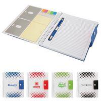 384304211-184 - Ridgewood Junior Notebook with Pen & Stickies - thumbnail