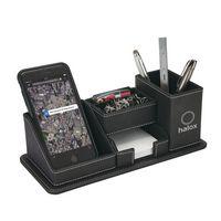 525456362-184 - Oxford Desk Organizer w/Phone Holder - thumbnail