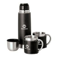 592552583-184 - Cinna I Steel Flask & Cups Travel Set - thumbnail