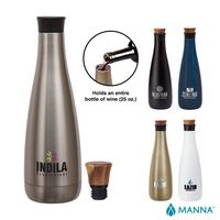785768938-184 - Manna 25 oz. Carafe Steel Bottle - thumbnail