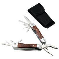 791642979-184 - Wood Handled Multi Tool Pliers - thumbnail