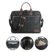 985649735-184 - Solo Shorewood Leather Briefcase - thumbnail