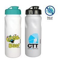 156340148-819 - 24 oz. MicroHault Cycle Bottle with Flip Top Cap, Full Color Digital - thumbnail