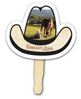 163174896-819 - Custom Full Color Digital Stock Cowboy Hat Hand Fan - thumbnail