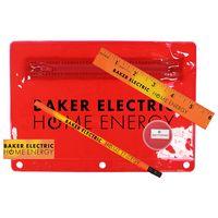 354324803-819 - Premium Translucent Mood School Kit w/ Pencil, Ruler, Eraser & Sharpener - thumbnail