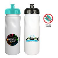 506346733-819 - 24 oz. MicroHault Cycle Bottle with Push 'N Pull Cap, Full Color Digital - thumbnail