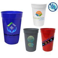 746276124-819 - 17 Oz. Antimicrobial Stadium Cup (Full Color Digital) - thumbnail