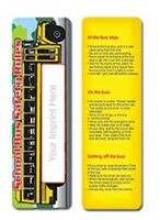 903174977-819 - School Bus Safety Stock Full Color Digital Printed Bookmark - thumbnail