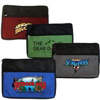 925563283-819 - Double Zipper Accessory Bag (Full color digital) - thumbnail