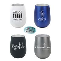 945483835-819 - 12 Oz. Halcyon® Stainless Steel Wine Glass - thumbnail