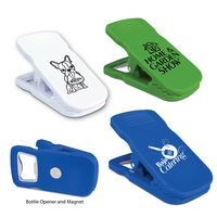 974577897-819 - Magnetic Bottle Opener/Bag Clip (Spot Color) - thumbnail