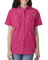 175368409-132 - Columbia Ladies' Bahama? Short-Sleeve Shirt - thumbnail